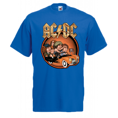 ACDC Car T-Shirt with print