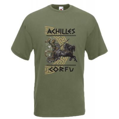 Achilles Gold Corfu T-Shirt with print
