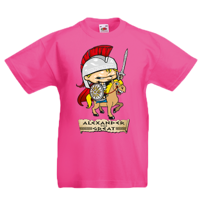 Alexander The Great Kids T-Shirt with print