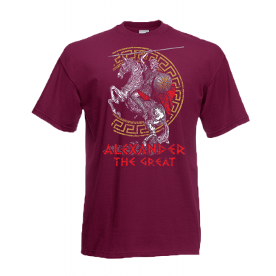 Alexander The Great T-Shirt with print