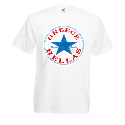 All Star Greece T-Shirt with print