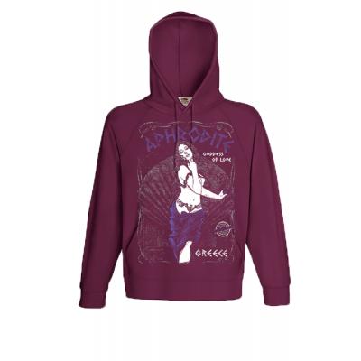 Aphrodite Hooded Sweatshirt  with print