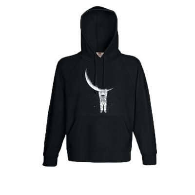 Astronaut Hooded Sweatshirt with print