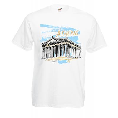 Athens Parthenon Ciel T-Shirt with print