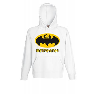 Barman Hooded Sweatshirt  with print