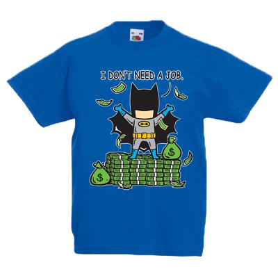 Batman Part Time Job Kids T-Shirt with print