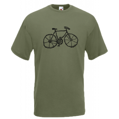 Bike Retro T-Shirt with print