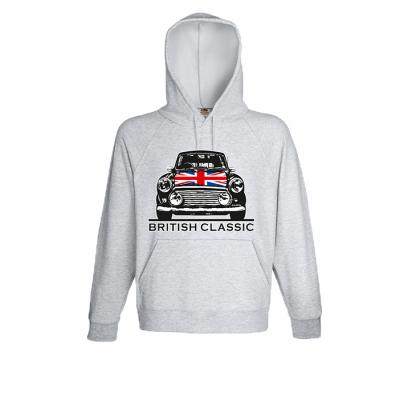 British Classic Hooded Sweatshirt with print