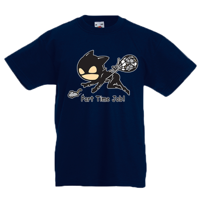 Catwoman Part Time Job Kids T-Shirt with print