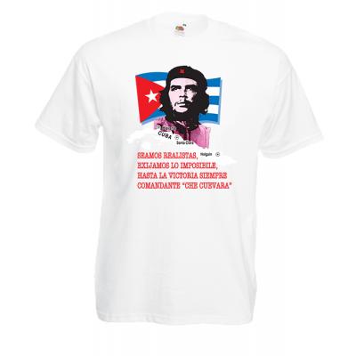 Che Guevara Flag T-Shirt with print