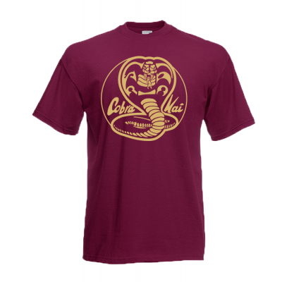 Cobra Kai gold T-Shirt with print