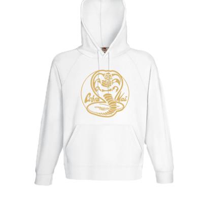 Cobra Kai Gold Hooded Sweatshirt  with print