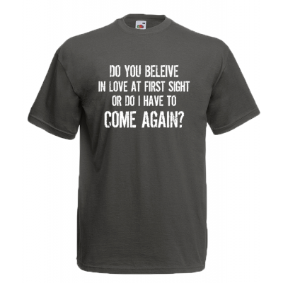 Come Again T-Shirt with print