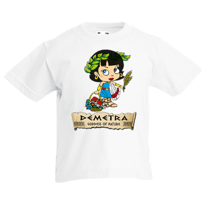 Demetra Kids T-Shirt with print