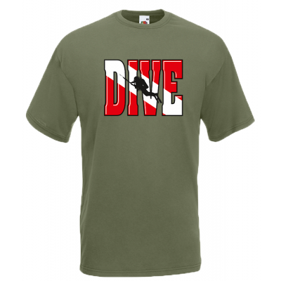 Dive T-Shirt with print