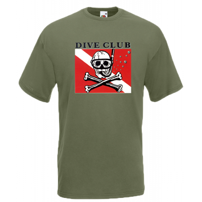 Dive Club T-Shirt with print