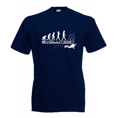 Diving Evolution T-Shirt with print