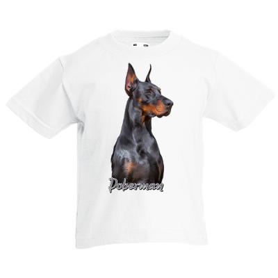 Doberman Kids T-Shirt with print