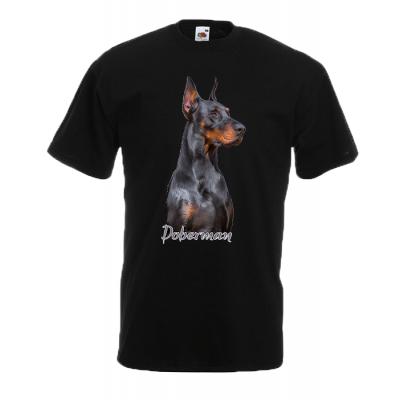 Doberman T-Shirt with print