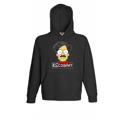 EscoBart Hooded Sweatshirt  with print