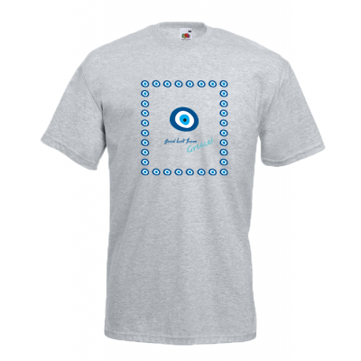 Evil Eye Square T-Shirt with print