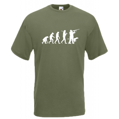 Evolution Hunting T-Shirt with print