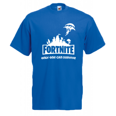 T-Shirt with print Fortnite Skydiver White