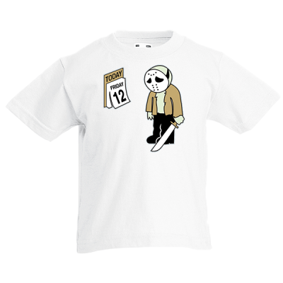 Friday 12 Kids T-Shirt with print
