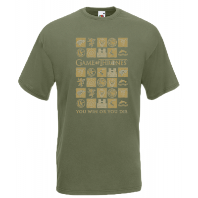 Game Of Thrones You Win Or You Die T-Shirt with print