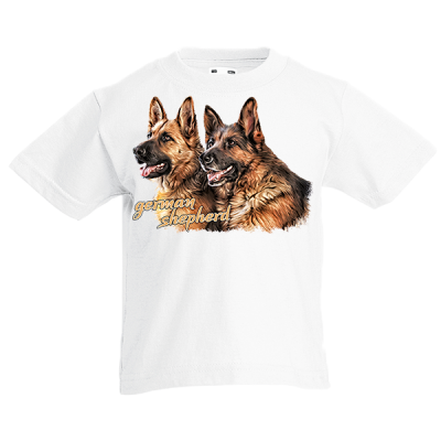 German Shepherd Kids T-Shirt with print