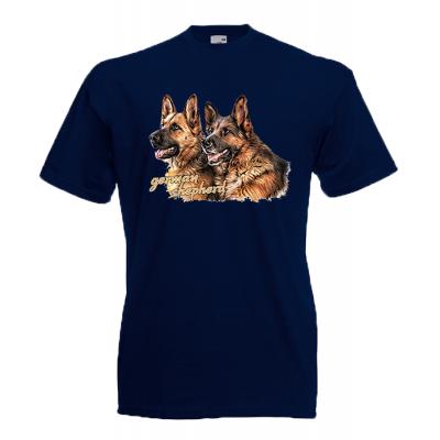 German Shepherd T-Shirt with print