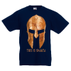 T-Shirt with print Gold Helmet This Is Sparta-331