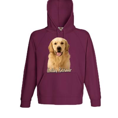 Golden Retriever Hooded Sweatshirt with print