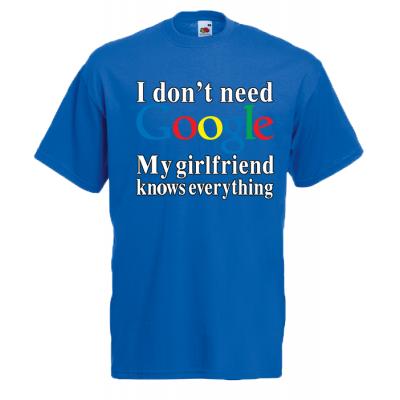 Google Girlfriend T-Shirt with print