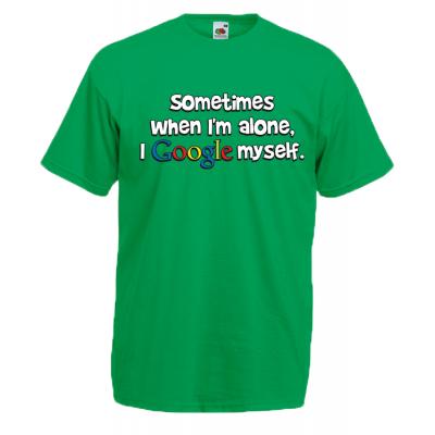 Google Myself T-Shirt with print
