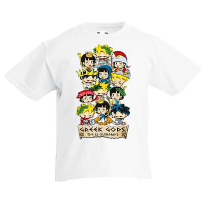 Greek Gods Kids T-Shirt with print