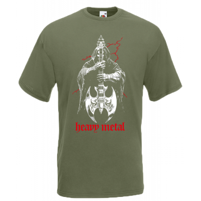 Heavy Metal T-Shirt with print