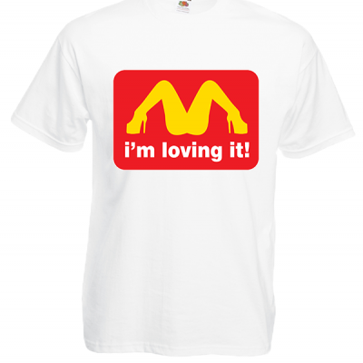 I'm Loving It T-Shirt with print
