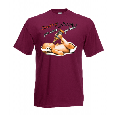 Jack Daniel Baby T-Shirt with print