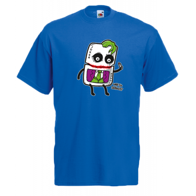 Joker Card Why So Serious T-Shirt with print
