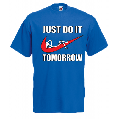 Just Do It T-Shirt with print