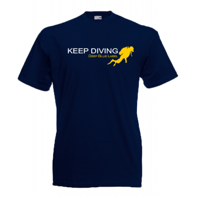 Keep Diving T-Shirt with print