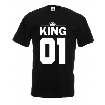 King T-Shirt with print