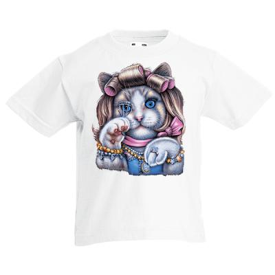 Kitty Doll Kids T-Shirt with print