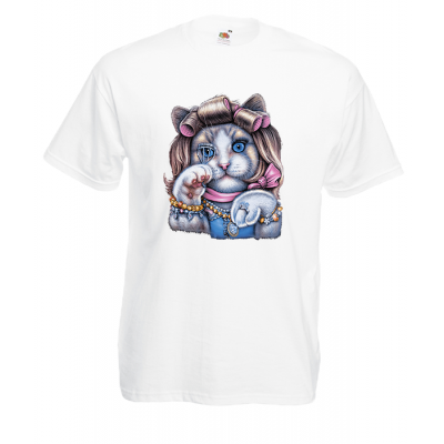 Kitty Doll T-Shirt with print