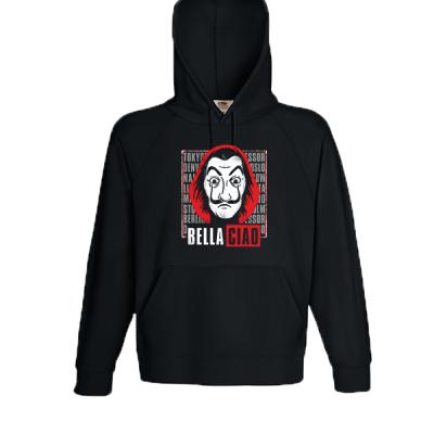 La Casa De Papel Ciao Hooded Sweatshirt  with print