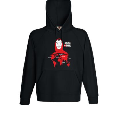 La Casa De Papel ProfessorHooded Sweatshirt  with print