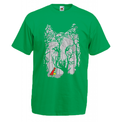 Little Red Riding Hood Woods T-Shirt with print