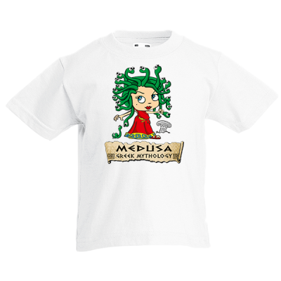 Medusa Kids T-Shirt with print
