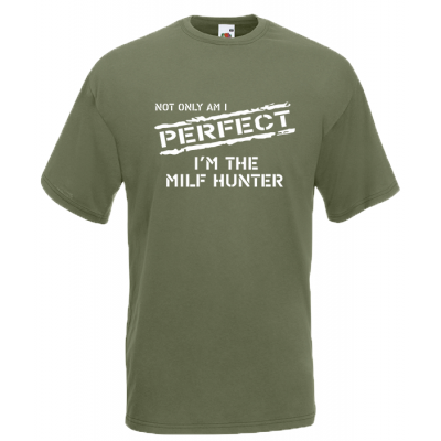 Milf Hunter T-Shirt with print